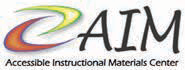 Accessibile Instructional Materials Center logo